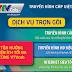 VTVCab Quận Bình Tân - Khuyến mãi lắp truyền hình HD tháng 8/2017