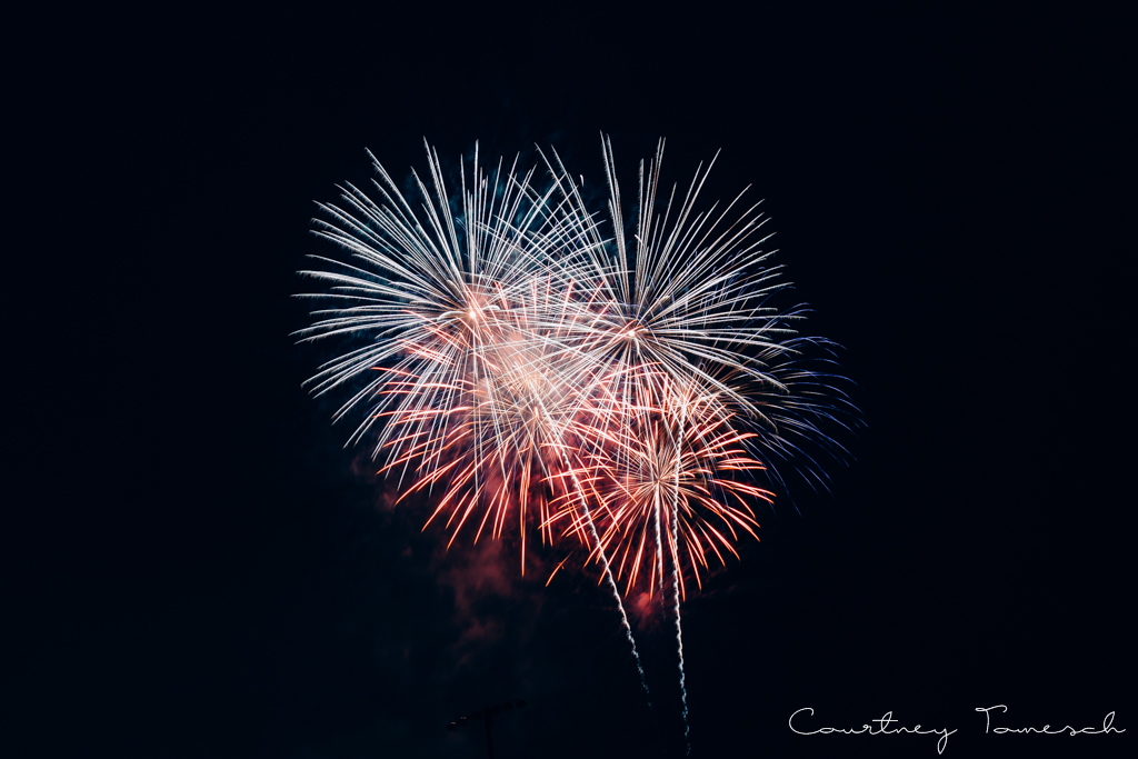 Courtney Tomesch Fireworks