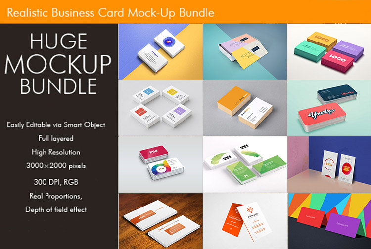 125 free creative business card mockup psd templates music theory business card mock ups bundle reheart Images