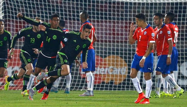Mexico vs Chile en vivo Amistoso 2016