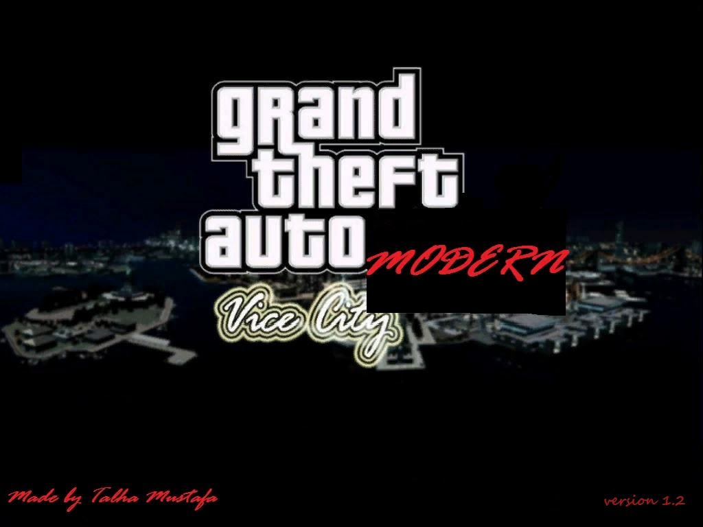 Gta Vice City Modern: GTA Vice City Modern V1 2