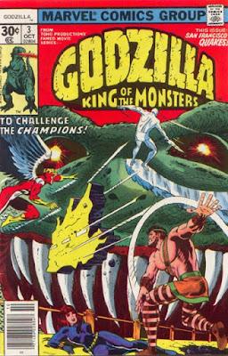 Godzilla #3, the Champions