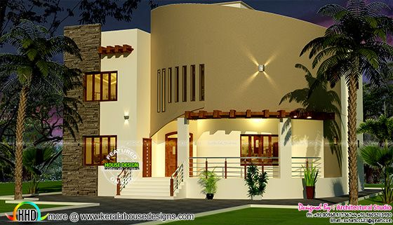 2691 sq-ft Arabic model home
