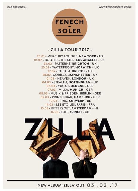 Fenech-Soler announce 2017 tour