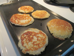 How To Prepare Corn And Cheese Griddle Cakes