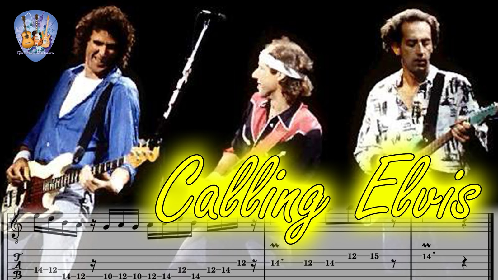 how to play calling elvis on guitar