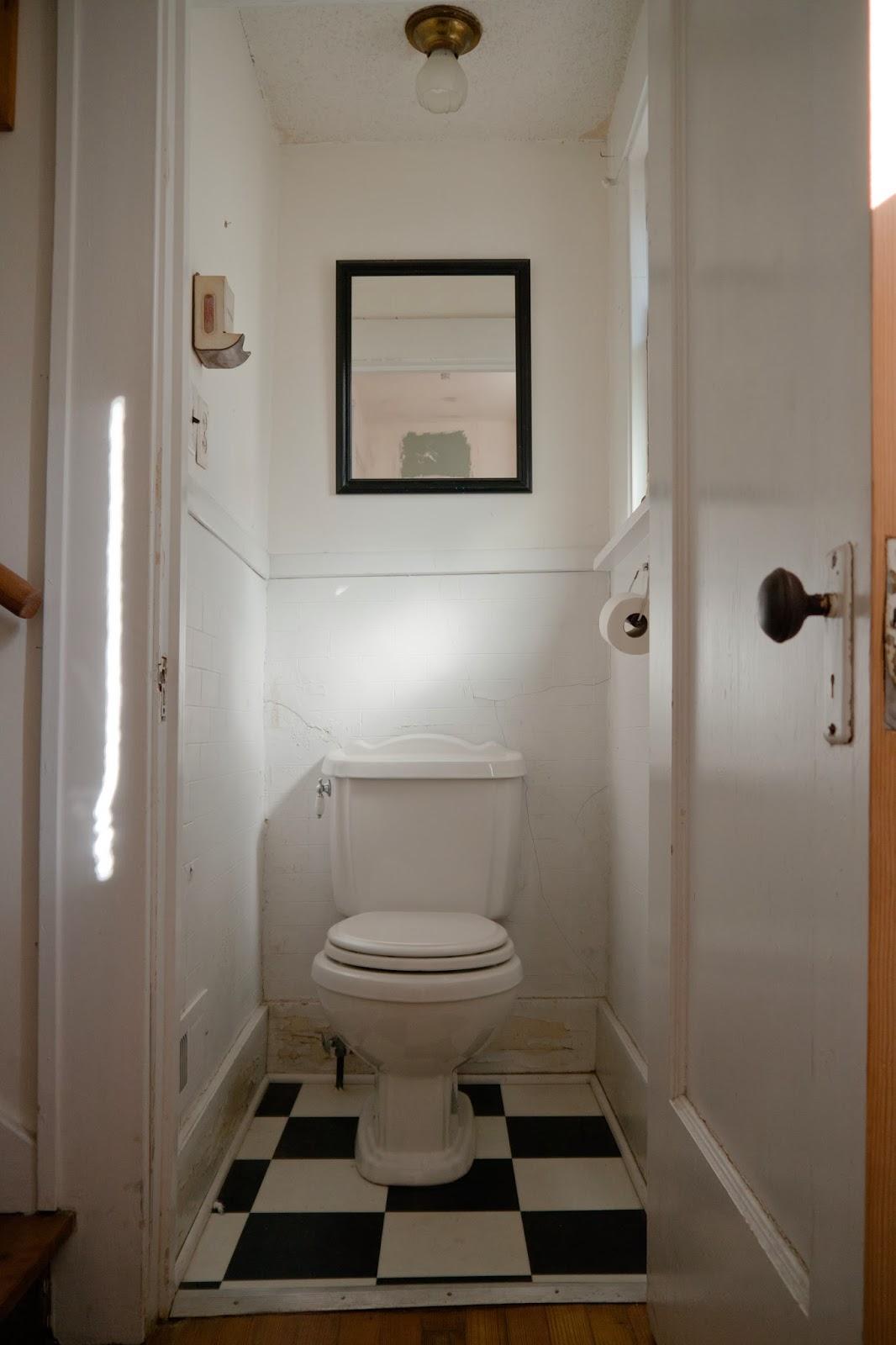 Keep Smiling Toilet Closet Demo Day 1