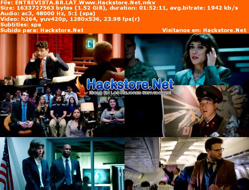 Capturas de Una Loca Entrevista (2014) Blu-Ray RIP HD Latino