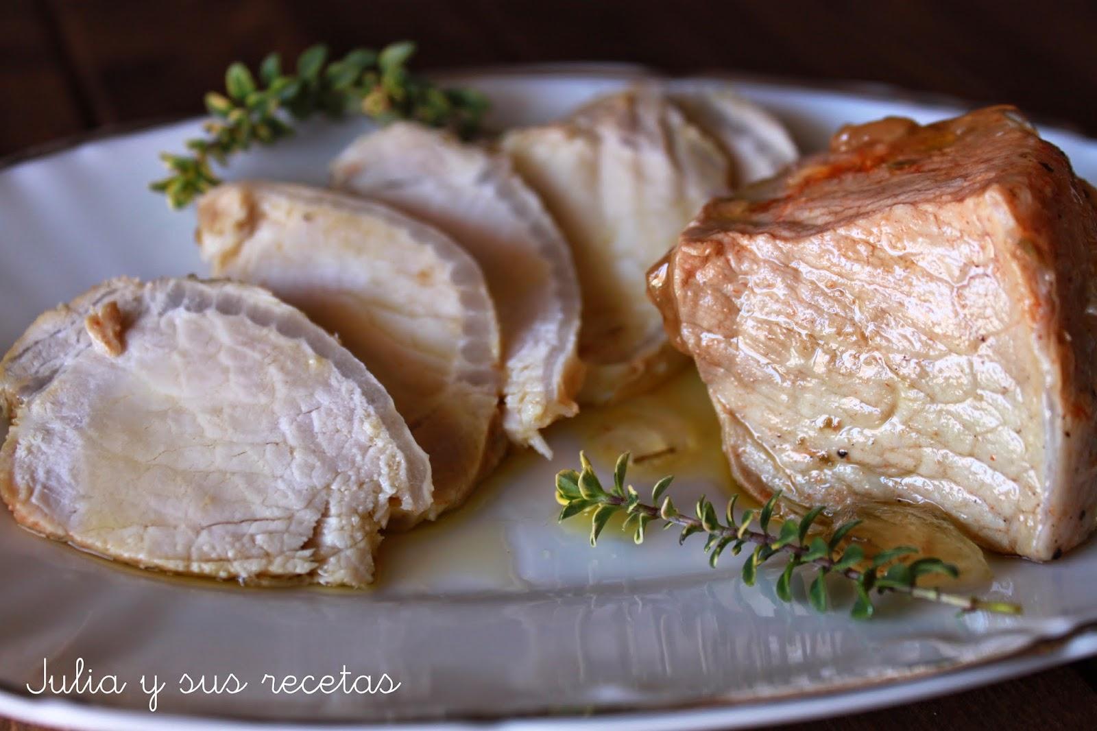 Lomo de orza. Julia y sus recetas