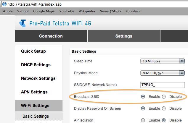 How To Hide Your WiFi Network Name SSID to be invisible ~ Wifi