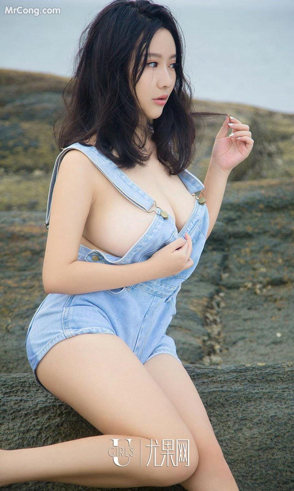 Image UGIRLS-Ai-You-Wu-App-No.864-Ni-Ye-Teng-MrCong.com-022 in post UGIRLS – Ai You Wu App No.864: Người mẫu Ni Ye Teng (倪叶藤) (40 ảnh)