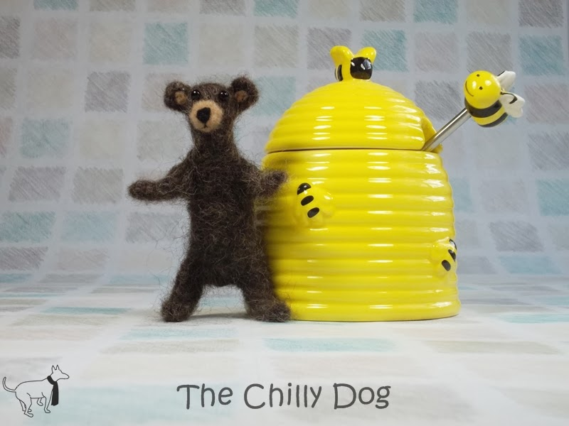 Felted Brown Bear - Book Review of Little Felted Animals: Create 16 Irresistible Creatures with Simple Needle-Felting Techniques
