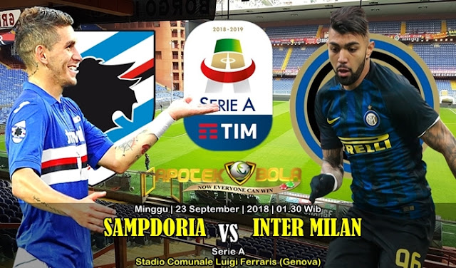 Prediksi Sampdoria vs Inter Milan 23 September 2018