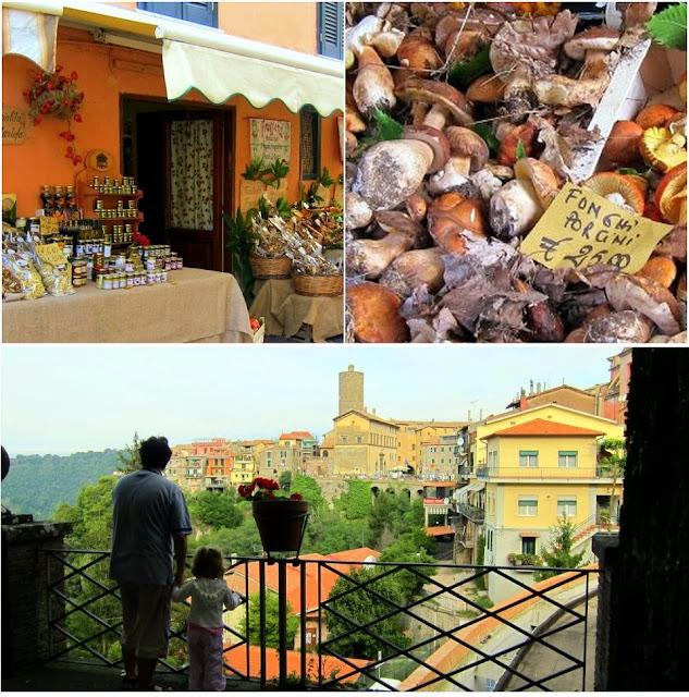 collage of Nemi Italy