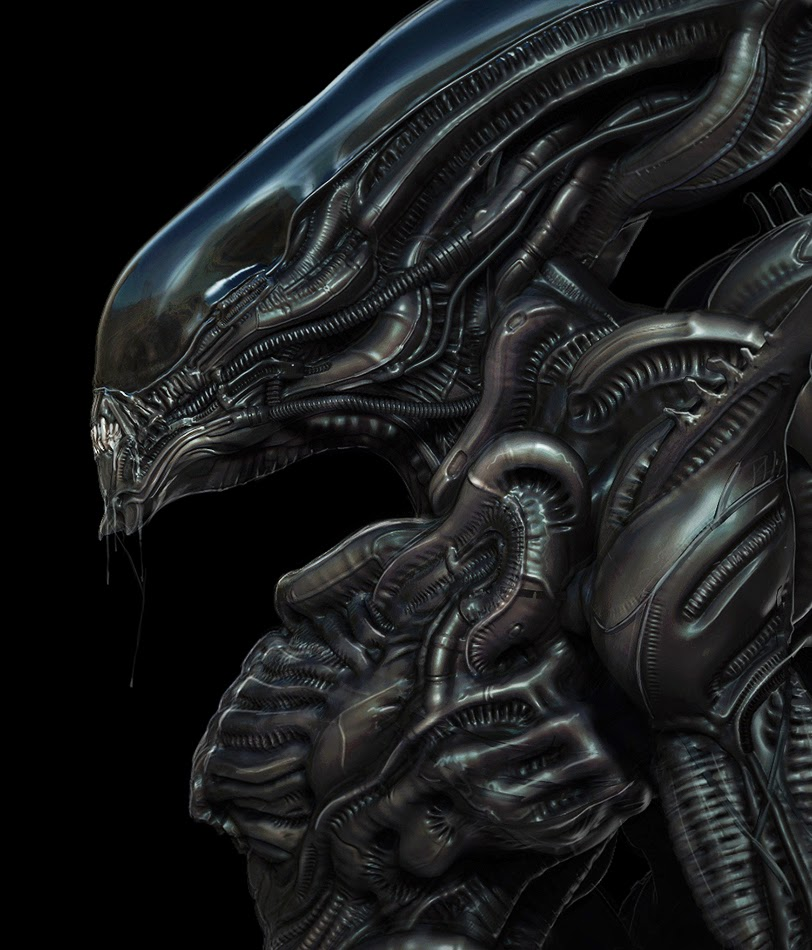 Quick Noodles ........: RIP - H.R Giger - Xenomorph H.r. Giger Queen Alien