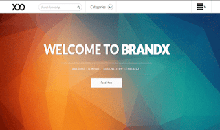 BrandX Responsive Blogger Template
