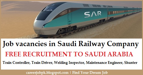 Latest job vacancies in Saudi Railway Company (SAR)