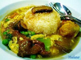 Resep Nasi Siram Ayam