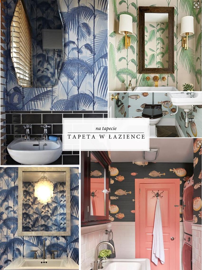 Olgaiokolice Tapeta W łazience