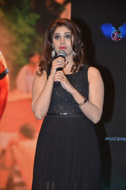 Actress Surabhi Hot Stills at Gunturodu Audio Launch