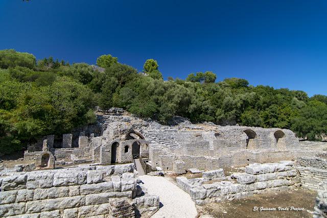 Templo de Esculapio en Butrint - Albania por El Guisante Verde Project