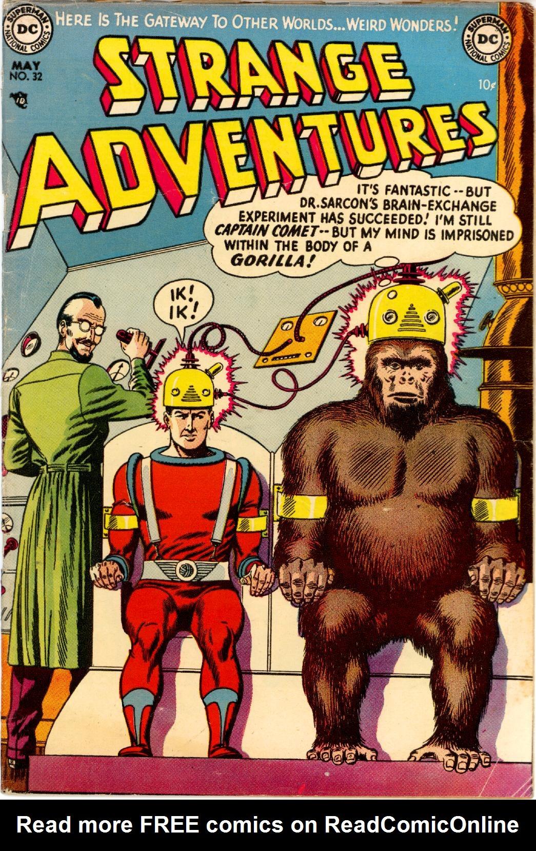 Strange Adventures (1950) issue 32 - Page 1