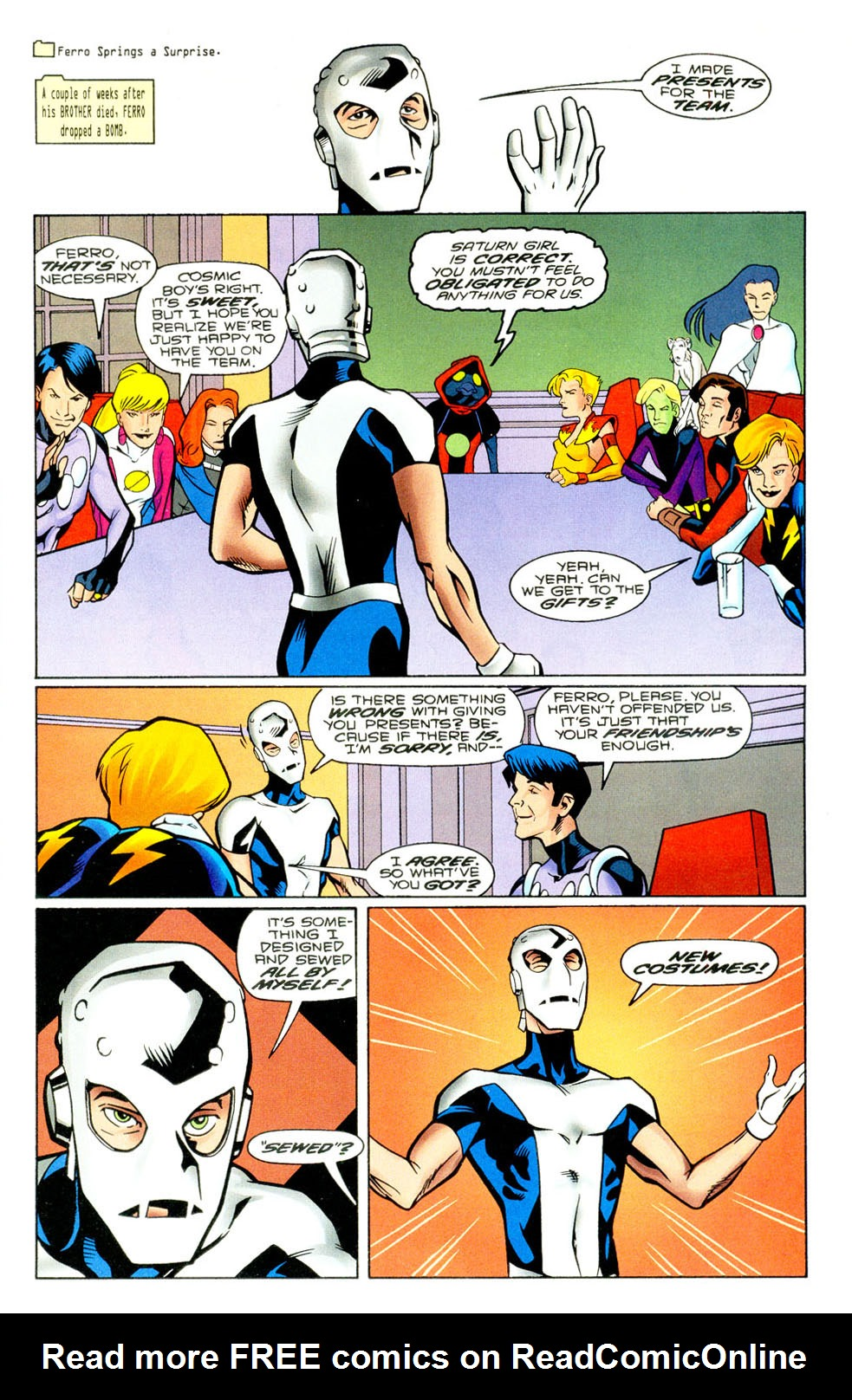 Legion of Super-Heroes (1989) 94 Page 1