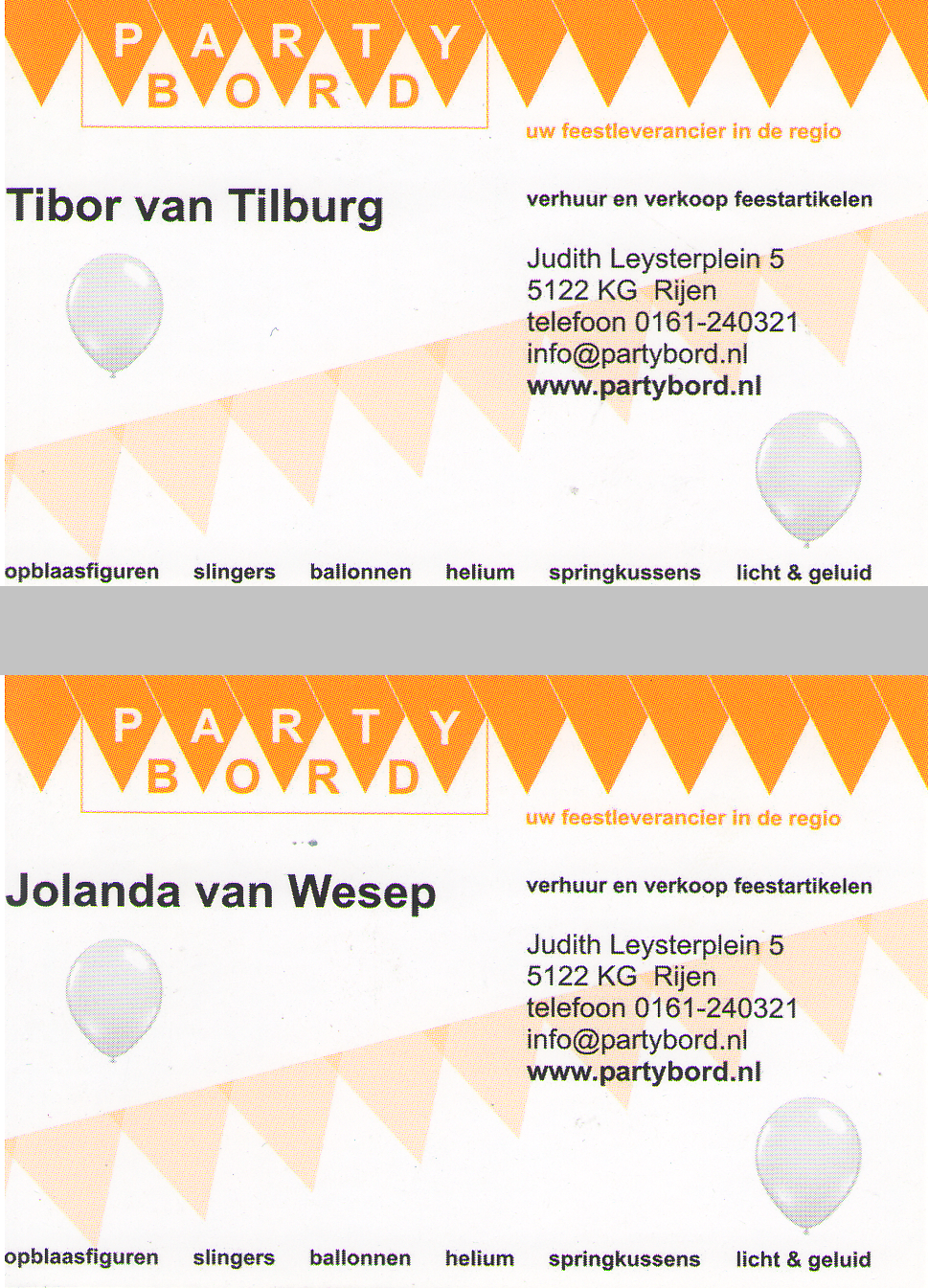 The Very Best Balloon Blog: Benefits of Business Cards as a ...