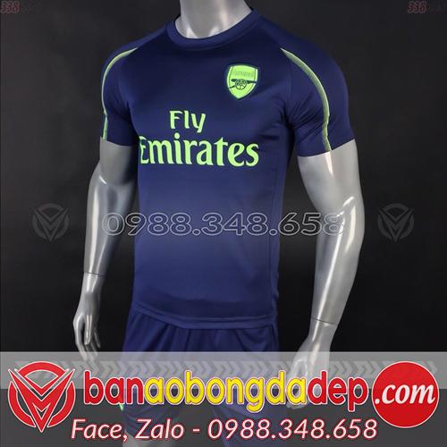Áo CLB Arsenal 2019 Training màu tím than
