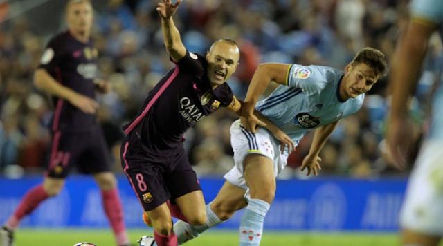 Celta Tekuk Barcelona 4-3
