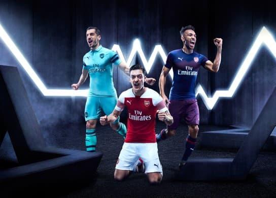 アーセナルFC 2018-19 ユニフォーム-ホーム-アウェイ-サード