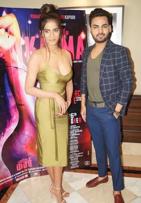 Social media sensation Poonam Pandey in erotic thriller The Journey of Karma'