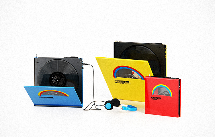 Rawman 3000 O Toca Discos Port 225 Til Design Innova