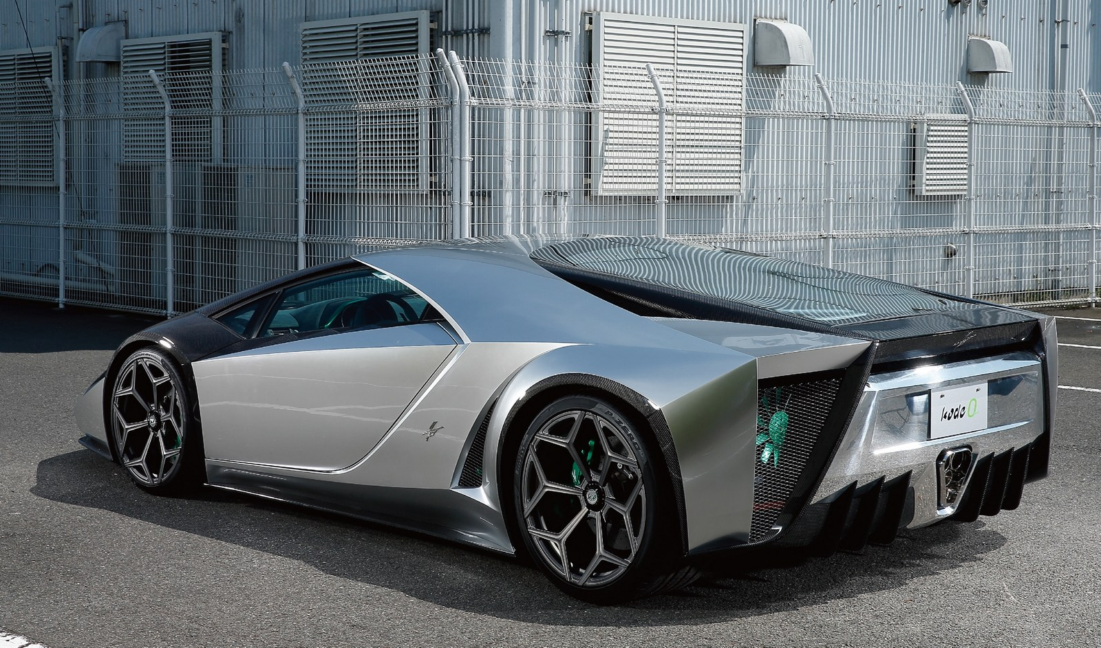 Ken Okuyama S Kode 0 Is A Wedge Shaped Lamborghini