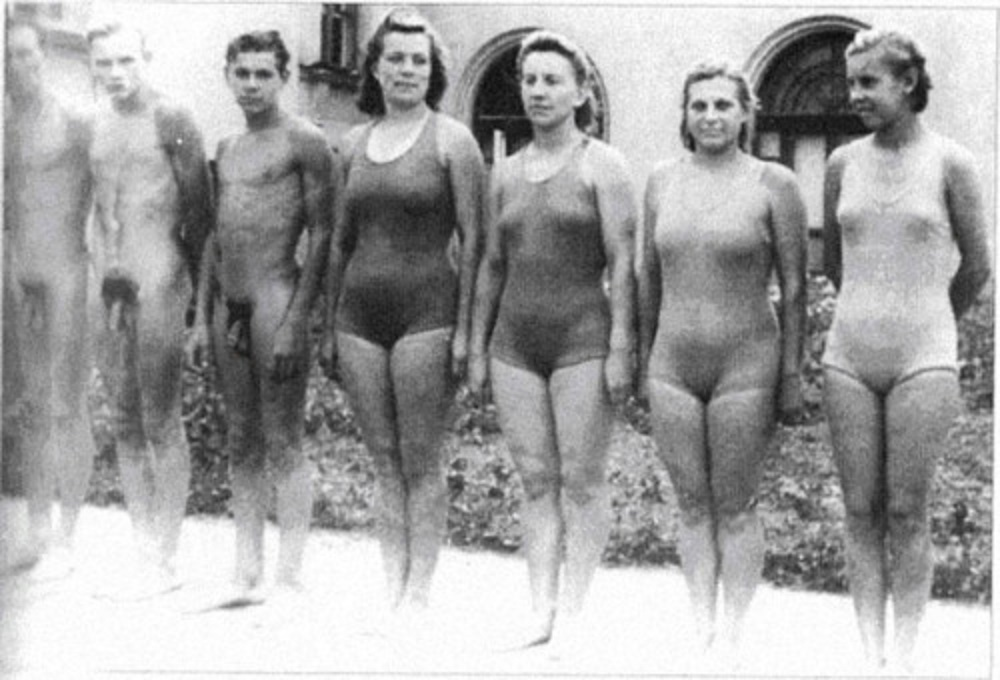 Apologise, but Mixed swim team nude authoritative