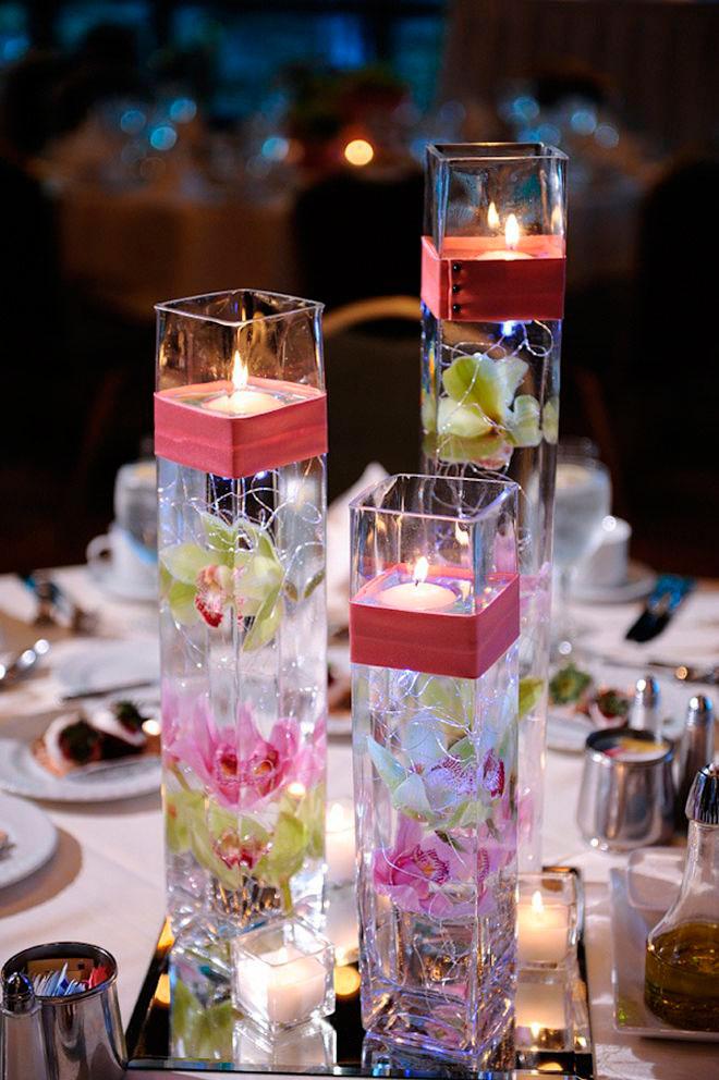 u00a1 u00daltima tendencia  centros de mesa novedosos con flores y centerpieces with fish bowls christmas centerpieces with fish bowls