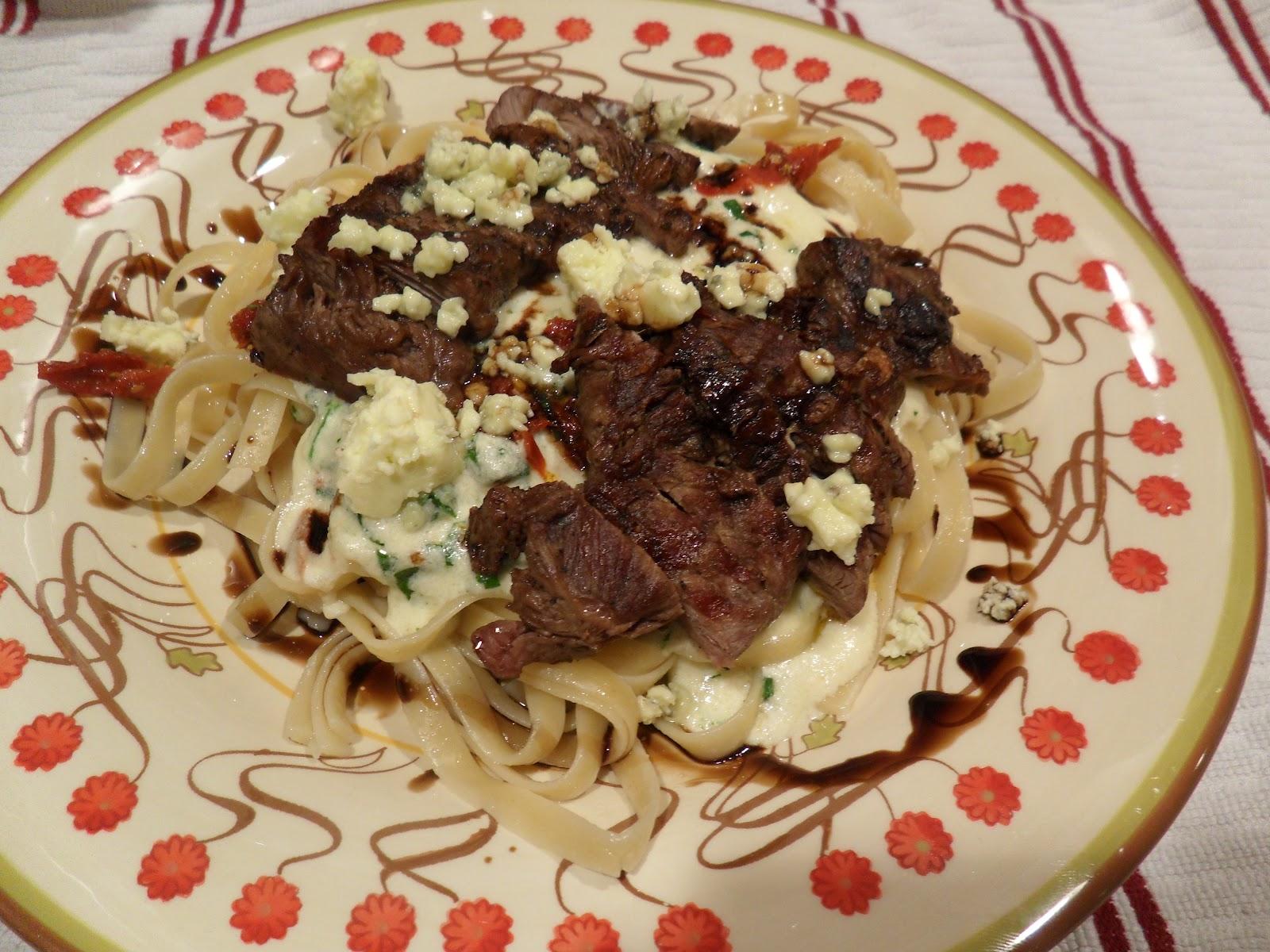 Made To Order: Steak Gorgonzola Alfredo