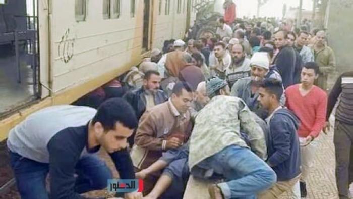 عاجل | نعرض الصور الأولى لحادث قطار تفهنا العزب بزفتى .. وشاهد عدد القتلى والمصابين جراء هذا الحادث المؤلم