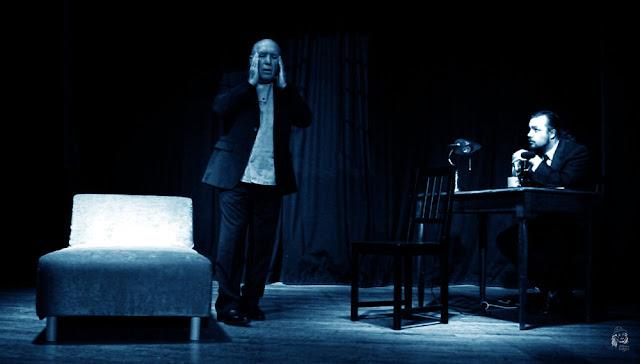 Patrick Rouzaud et Aymeric Marvillet dans Dom Juan ou les limbes de la mémoire