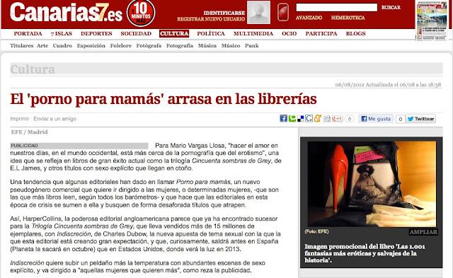 Canarias   Las fantasías eróticas arrasan en las librerías