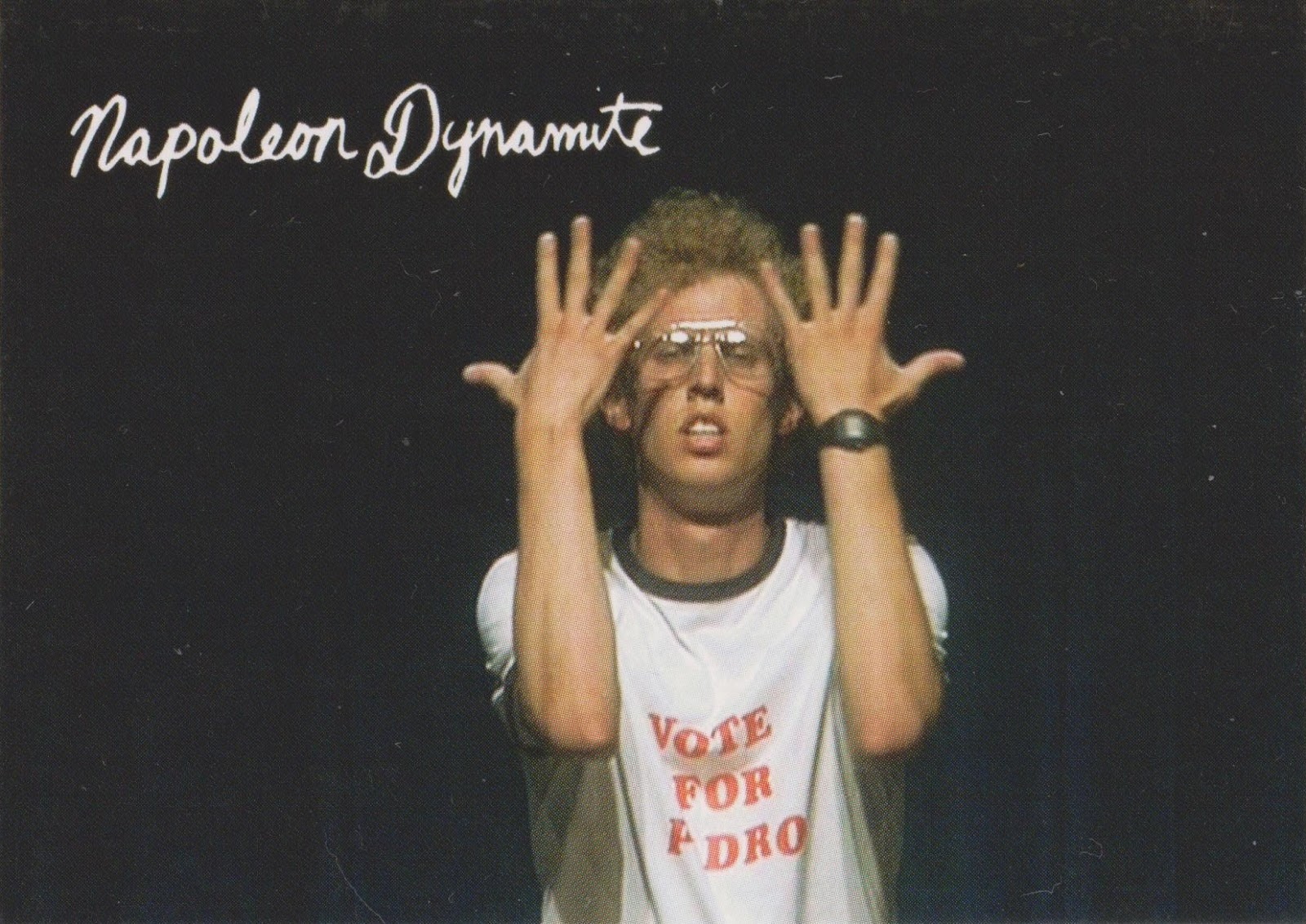 Bummed out royal card review last year i bought a box of napoleon dynamite cards and its an easy set to build from a box the set is only 50 cards with no inserts bookmarktalkfo Choice Image