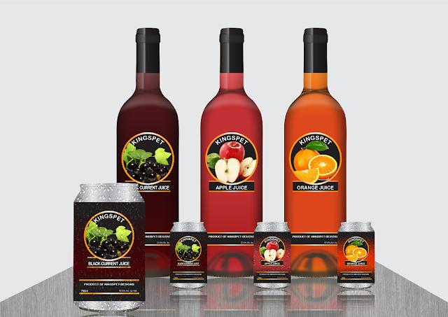 Wine Bottle and Can Branding Tutorial SPEED ART