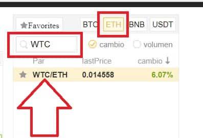 comprar moneda walton WTC desde binance fácil guía completa