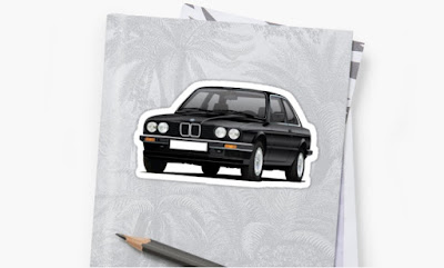 BMW E30 tarrat