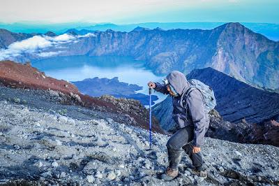 Pendakian Gunung Rinjani, Pic. by Azli Wahab