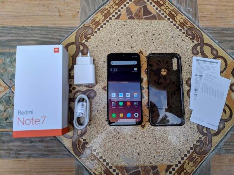 Paket Pembelian Xiaomi Redmi Note 7