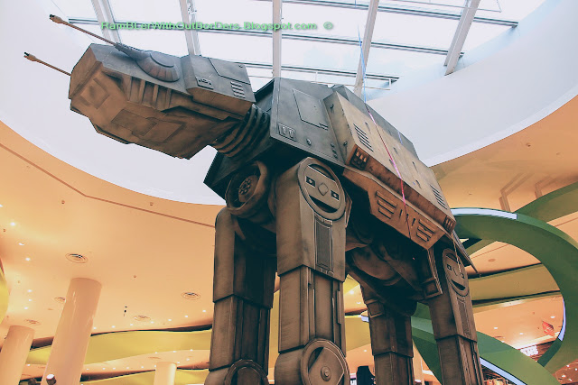 Walker (AT-AT), Star Wars mechandise, Vivocity, Singapore