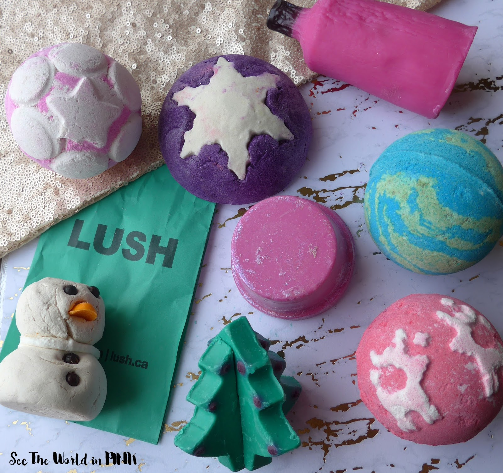 Skincare Sunday - Lush Christmas Collection!