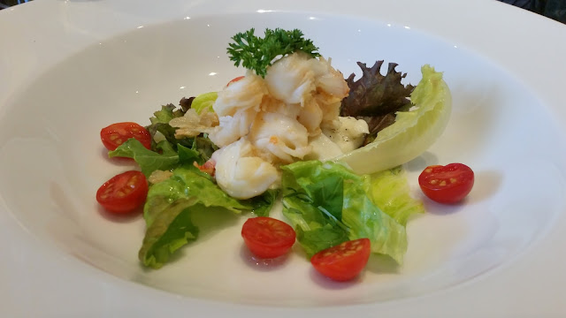 Lobster and Bocconcini salad