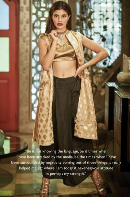 Jacqueline Fernandez Cineblitz Magazine June 2016